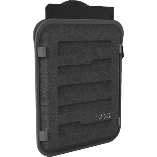 """Higher Ground 13""""/14"""" Capsule Laptop Sleeve with Shoulder Strap (Grey)"""