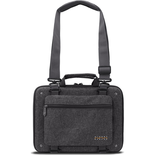 """Higher Ground Shuttle 3.0 13"""" Laptop Case with Shoulder Strap (Gray)"""