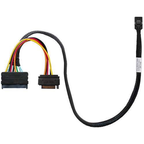 HighPoint SFF-8643 To U.2 SFF-8639 Cable For SSD7120 With 15Pin SATA Power