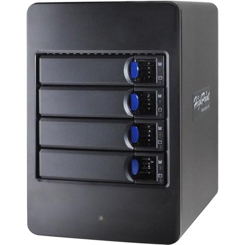 HighPoint rDrive 6114VW 16TB 4-Bay USB 3.1 RAID Array for Windows (4 x 4TB)