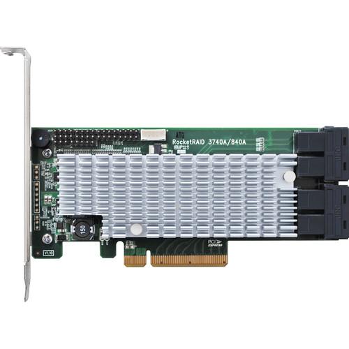 HighPoint RocketRAID 3740A 12 Gb/s PCIe 3.0 x8 SAS/SATA RAID Host Bus Adapter