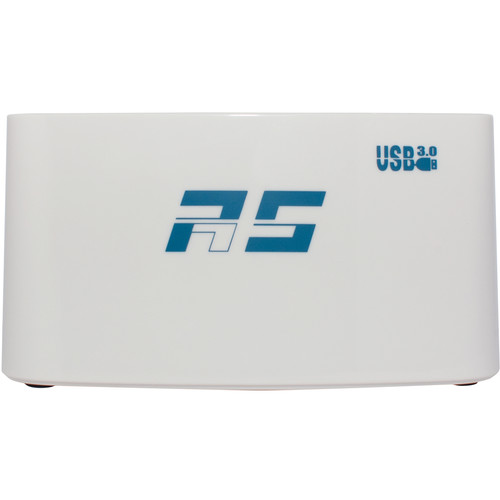 HighPoint RocketStor 5422A Dual Dedicated UAS Enabled USB 3.1 Gen 1 Storage Dock (White)