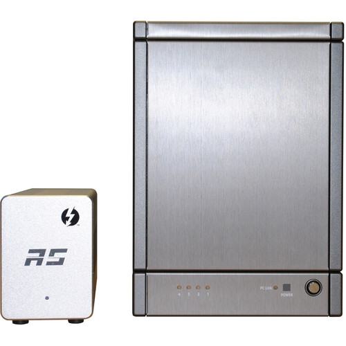 HighPoint RocketStor 6324AS 16TB (4x4TB) 4-Bay Thunderbolt 2 RAID Array Kit