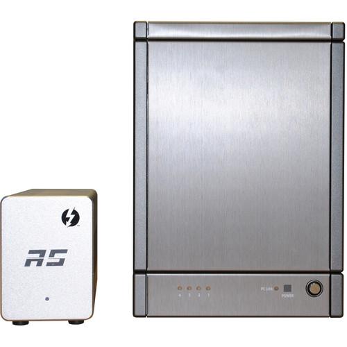 HighPoint RocketStor 6324AS 24TB (4x6TB) 4-Bay Thunderbolt 2 RAID Array Kit