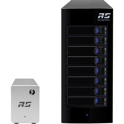 HighPoint RocketStor 6328LS 32TB (8x4TB) 8-Bay JBOD Array Kit