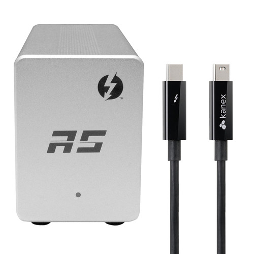 HighPoint RocketStor 6351A Thunderbolt 2 I/O Dock Kit (with 3' Cable)
