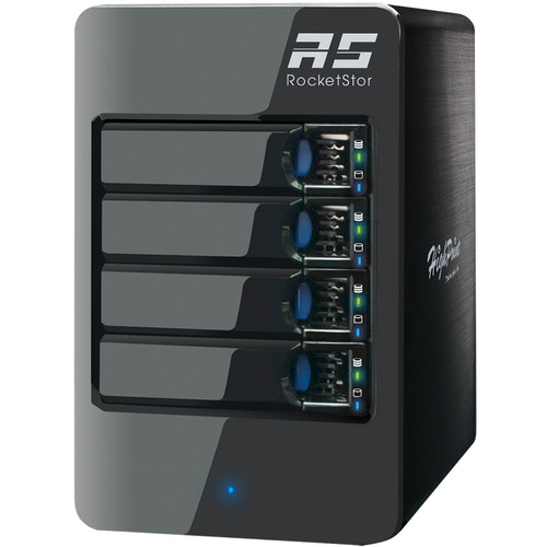 HighPoint RocketStor 6414AS 4-Bay Mini-SAS RAID Enclosure