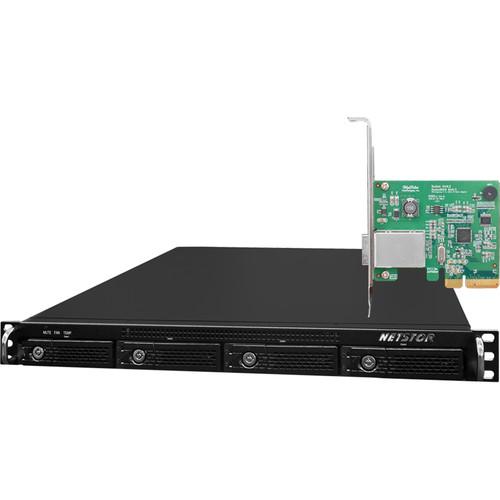HighPoint RocketStor 6421VS 1RU 4-Bay Value RAID Class Rackmount Enclosure Solution