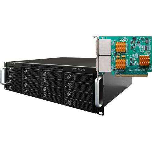 HighPoint RocketStor 6424TS 3RU 16-Bay Turbo RAID Class Rackmount Enclosure
