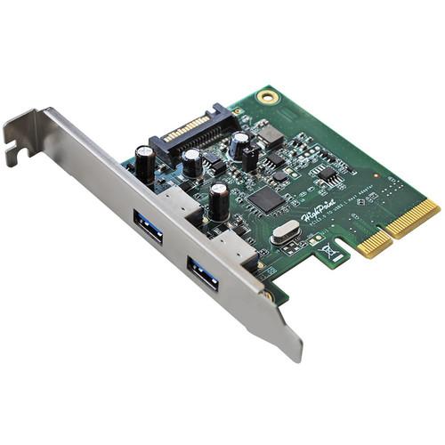 HighPoint RocketU 1322A 2-Port USB 3.1 PCIe 2.0 x4 Adapter