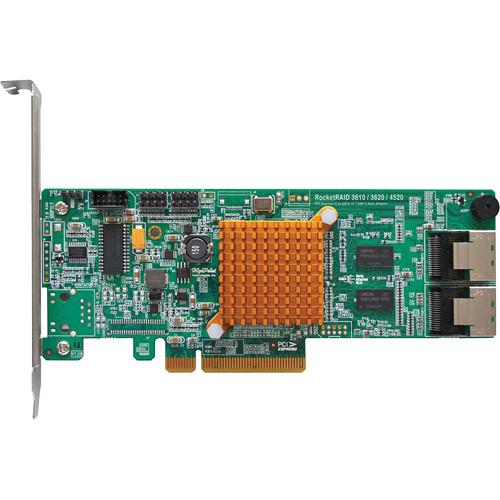HighPoint RocketRAID 362x Series 6 Gb/s SATA RAID HBA Solution (Internal)