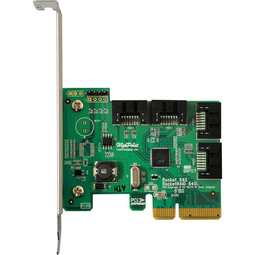 HighPoint RocketRAID 640L SATA III PCIe 2.0 x4 Host Bus Adapter