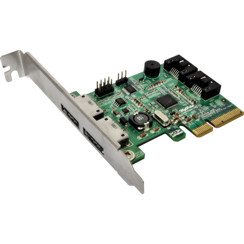 HighPoint RocketRAID 642L 4-Port SATA 6 Gbps RAID Host Bus Adapter