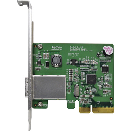HighPoint RocketRAID 644LS PCIe 2.0 x4 Host Bus Adapter
