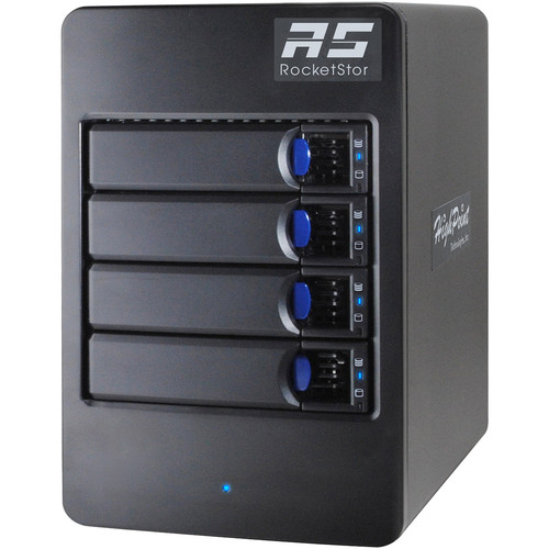HighPoint RocketStor 6114V 4-Bay USB 3.1 RAID Enclosure