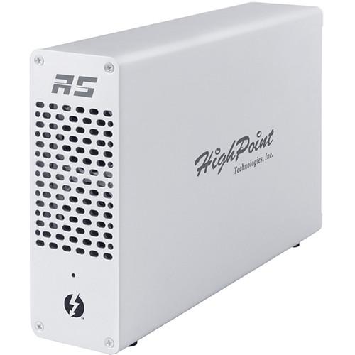 HighPoint RocketStor 6661A-2U2e Thunderbolt 3 to USB 3.1 Gen 1 & eSATA Adapter