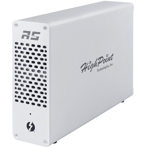 HighPoint RocketStor 6661A Thunderbolt 3 to PCIe 3.0 x16 Expansion Chassis
