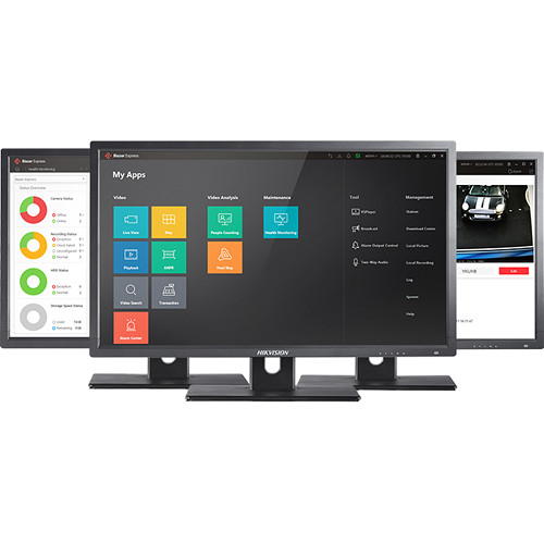 Hikvision Blazer Pro All-in-One 256-Channel NVR Server with HikCentral VMS & 1TB HDD