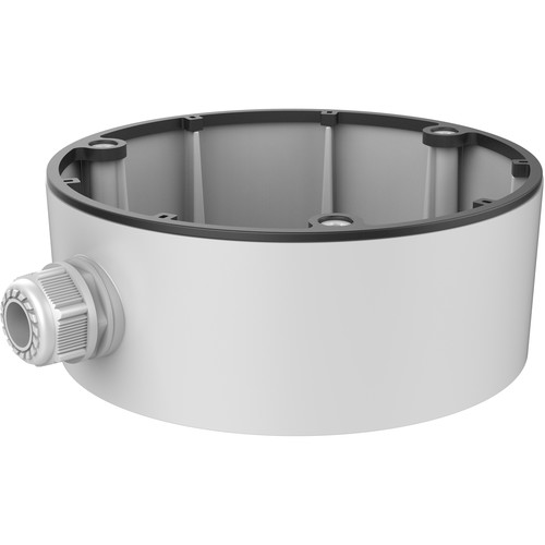 Hikvision CB165 Conduit Base Junction Box for Select Dome Cameras (White)