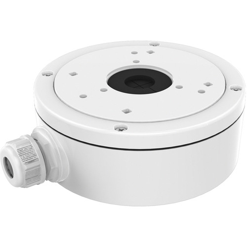 Hikvision CBS Conduit Base Junction Box for Select Dome Cameras (Black)