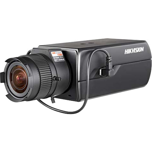 Hikvision DS-2CD6026FHWD-A11 2MP Network Box Camera with 11-40mm Lens
