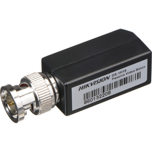 Hikvision DS-1H18 Passive Video Balun (2-Pack)