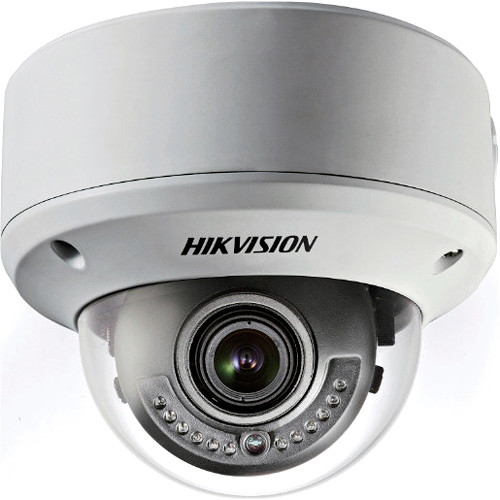 Hikvision 700 TVL Outdoor Vandal Proof IR Dome Camera with 2.8 to 12mm Varifocal Lens