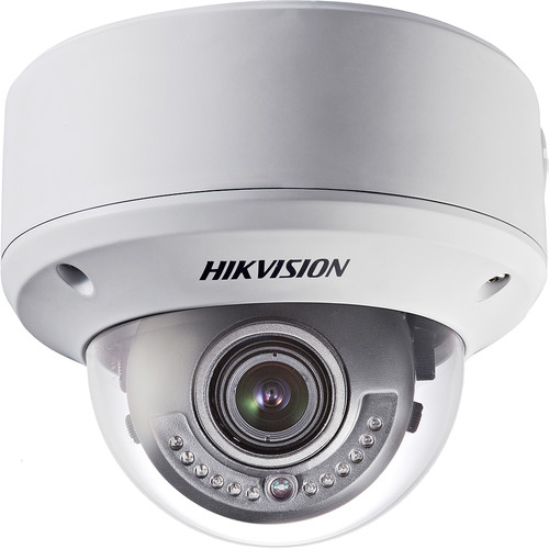 Hikvision 700 TVL Outdoor Vandal Proof Dome Camera with 2.8 to 12mm Varifocal Lens with WDR