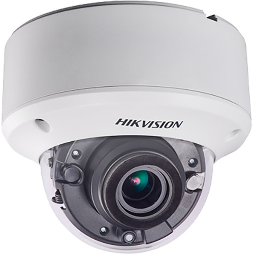 Hikvision TurboHD DS-2CC52D9T-AVPIT3ZE 2MP Outdoor HD-TVI Dome Camera with Night Vision (Ivory)
