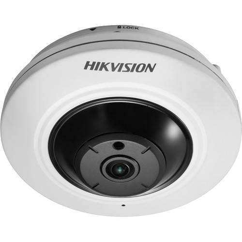 Hikvision DS-2CC52H1T-FITS 5MP HD-TVI Panoramic Fisheye Camera with Night Vision