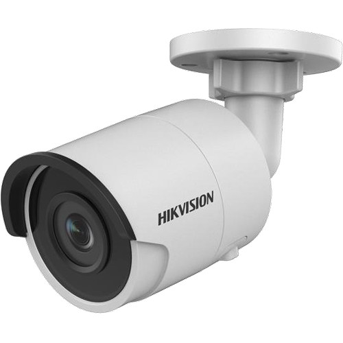 Hikvision Value Series 5MP Outdoor Network Bullet Camera with 4mm Fixed Lens and Night Vision