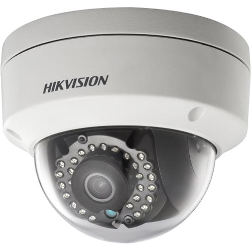 Hikvision 2MP Outdoor Network Vandal-Resistant Dome Camera with 6mm Fixed Lens & Night Vision