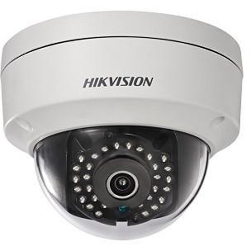 Hikvision 2MP WDR Fixed Outdoor Dome Network Camera with 6mm Lens