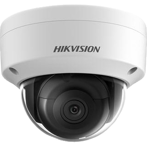 Hikvision Value Series 3MP Ultra-Low Light Outdoor Network Dome Camera with 8mm Lens and Night Vision