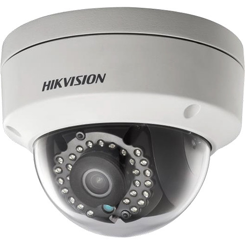 Hikvision DS-2CD2142FWD-IWS 4MP Outdoor Wi-Fi Network Dome Camera with Night Vision & 4mm Lens