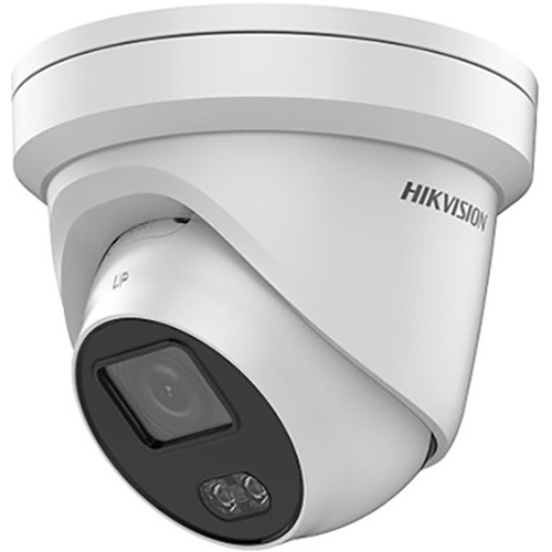 Hikvision ColorVu DS-2CD2327G1-LU 2MP Outdoor Network Turret Camera with Spotlight