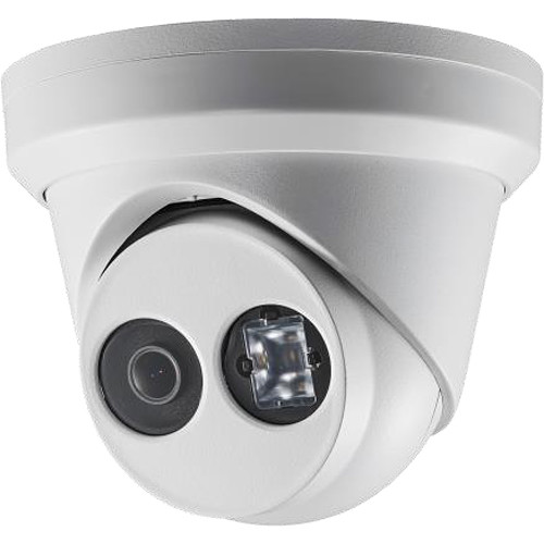 Hikvision Value Series 8MP Ultra-Low Light Outdoor Network Turret Dome Camera with 2.8mm Lens and Night Vision