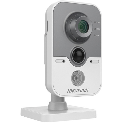 Hikvision Value Series 3MP Wi-Fi Network Cube Camera with 4mm Lens and Night Vision