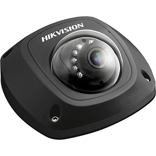Hikvision 2MP Outdoor Vandal-Resistant Network Dome Camera with 2.8mmmm Lens & Night Vision (Black)