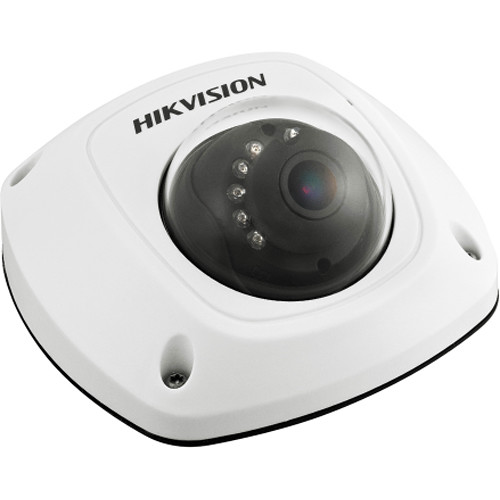 Hikvision 3MP HD Outdoor PoE Network Mini Dome Camera with 4mm Lens (with Audio I/O and Wifi Capabilities)
