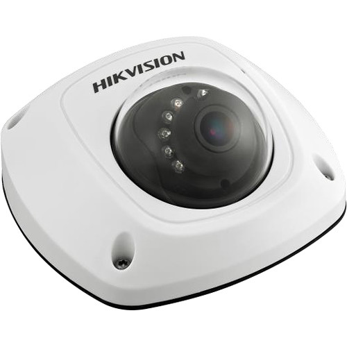 Hikvision 4MP Outdoor Network Mini Dome Camera with Night Vision and 4mm Lens (White)