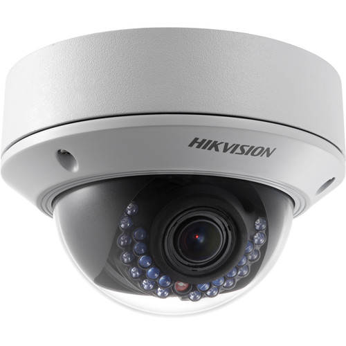 Hikvision DS-2CD2712FWD-IS1.3MP Outdoor Network Dome Camera with 2.8-12mm Lens & Night Vision