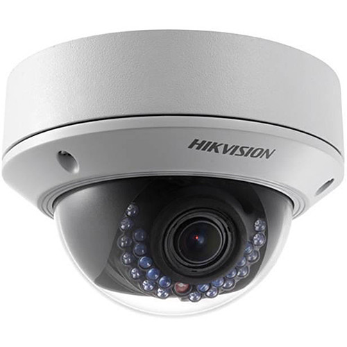 Hikvision Outdoor Dome, 1080P, H264, 2.8-12mm, Day/Night, IR (20M), IP66, PoE/12VDC