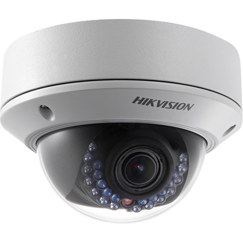 Hikvision Outdoor Dome,4MP,H264+,2.8-12mm Manual ZoomFocus D/N,120dB WDR-Alarm I/O,IR(30M),IP67,PoE/12VDC