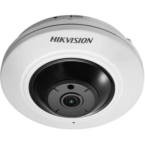 Hikvision Value Series 5MP Fisheye Network Dome Camera with Night Vision