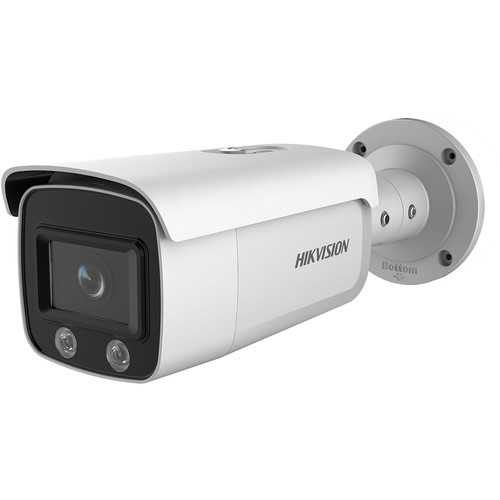 Hikvision DS-2CD2T47G1-L ColorVu 4MP Outdoor Network Bullet Camera with Dual Spotlights & 2.8mm Lens