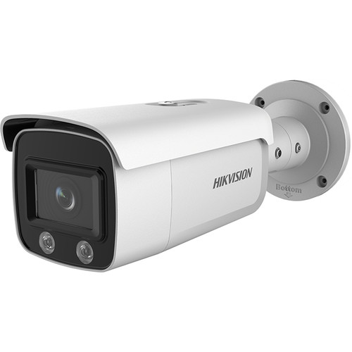 Hikvision DS-2CD2T47G1-L ColorVu 4MP Outdoor Network Bullet Camera with Dual Spotlights & 4mm Lens