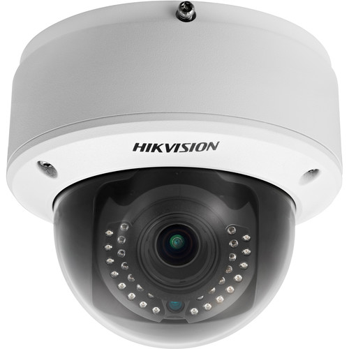 Hikvision Lightfighter Series 2MP Outdoor Motorized Vandal-Resistant Dome Camera with Night Vision