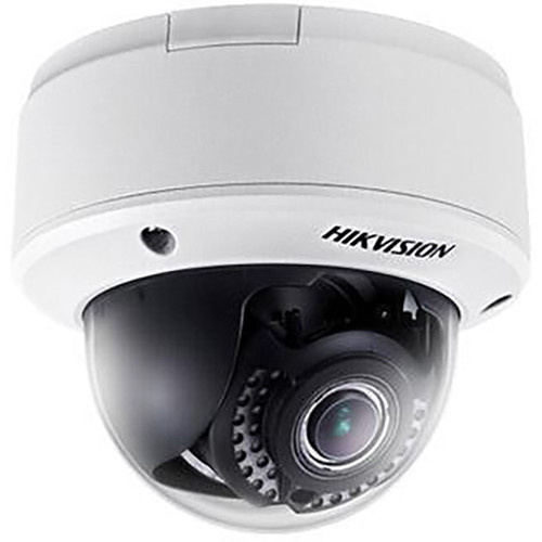 Hikvision 3MP Indoor Dome,8-32mm Motor VF Lens,H.264,Triple-Stream,for SD/SDXC Card to 128GB,DC12V/PoE