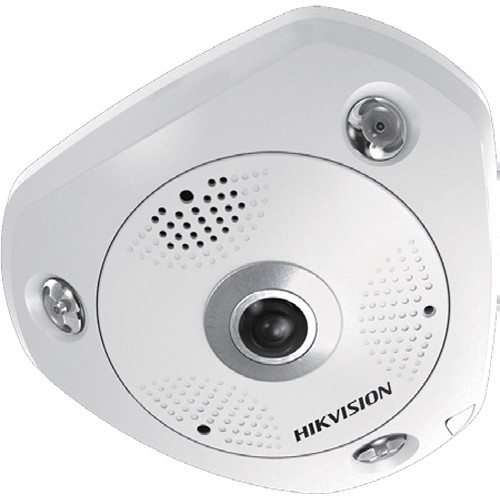 Hikvision 3MP Outdoor Fisheye Network Camera and Night Vision